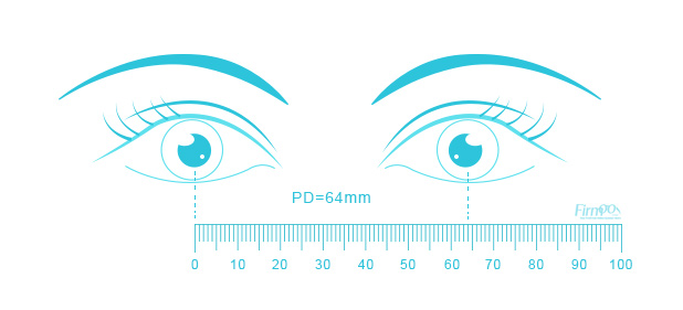 picture about Printable Pupillary Distance Ruler identify PD