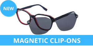 Magnetic clip-ons