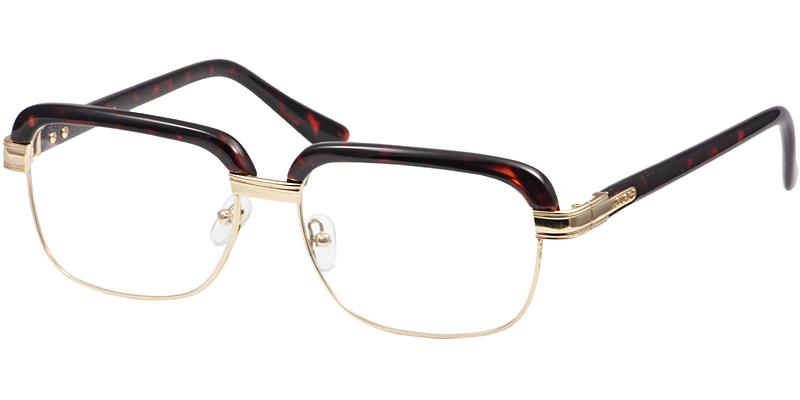 3ae2f3ac24 Unisex mixed material full frame eyebrow eyeglasses