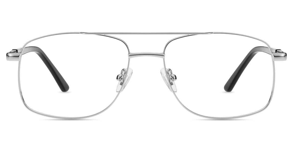 1b5aec58e05 Men s full frame metal eyeglasses