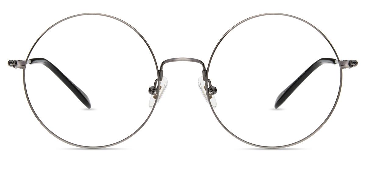 c557814ffe Unisex full frame memory metal eyeglasses
