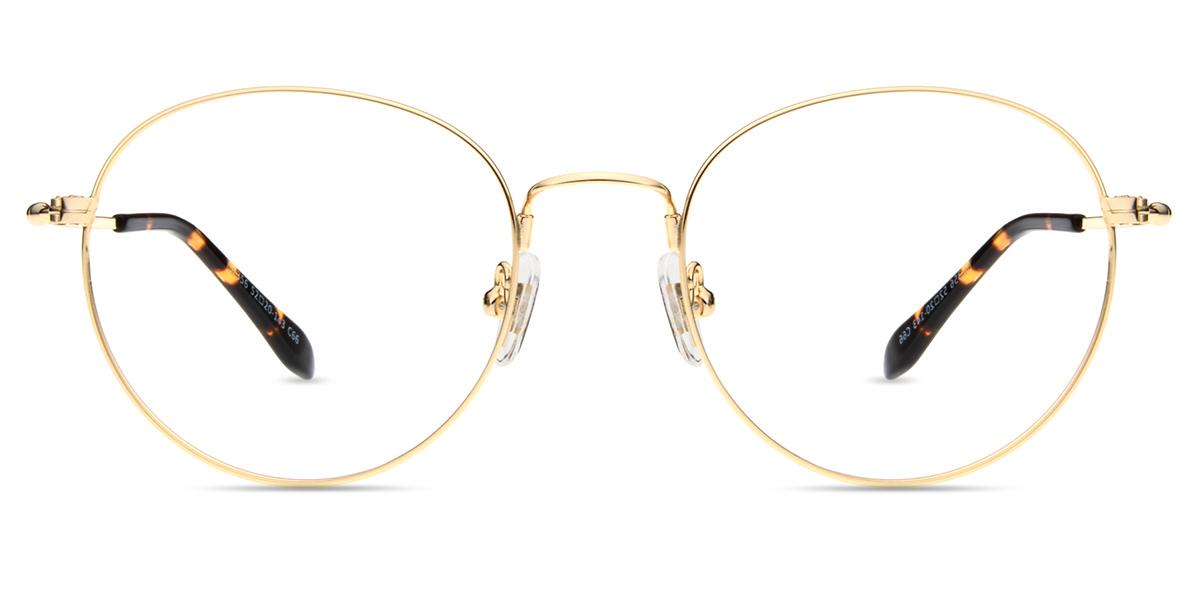 fe58ea511e6 Unisex full frame memory metal eyeglasses
