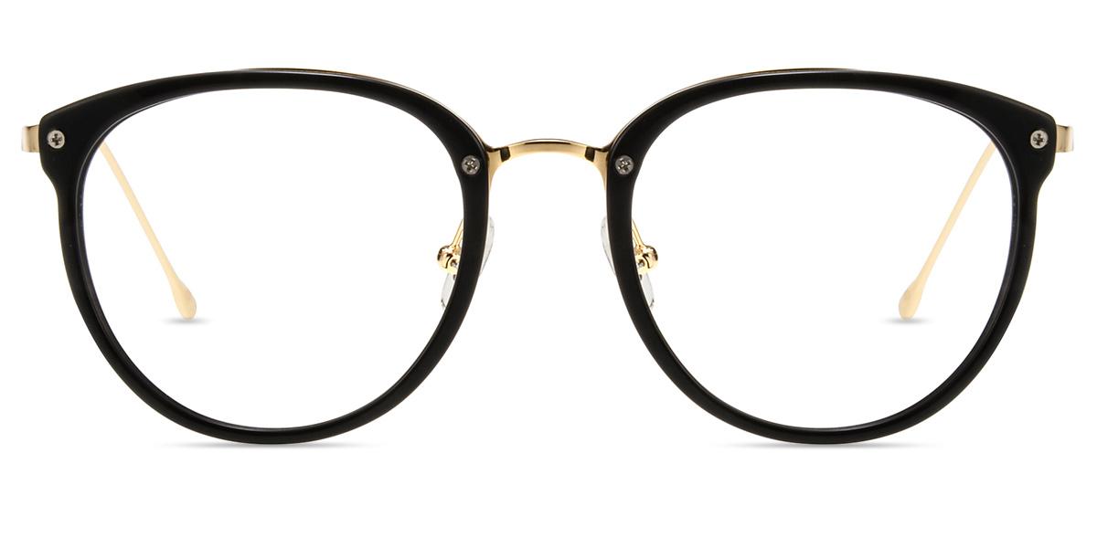 03238039a9 Unisex full frame mixed material eyeglasses