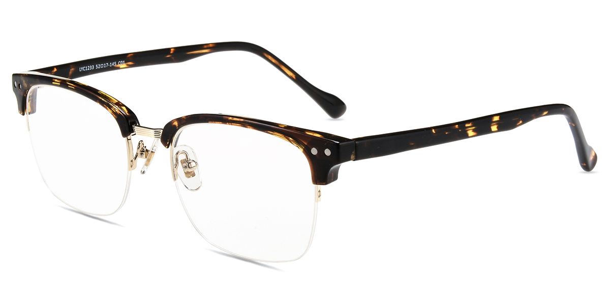 These frames are nice, light, and fit well. Trendy too!   Firmoo.com