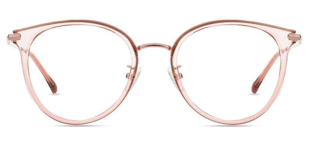 1db4d6a802 Unisex full frame mixed material eyeglasses