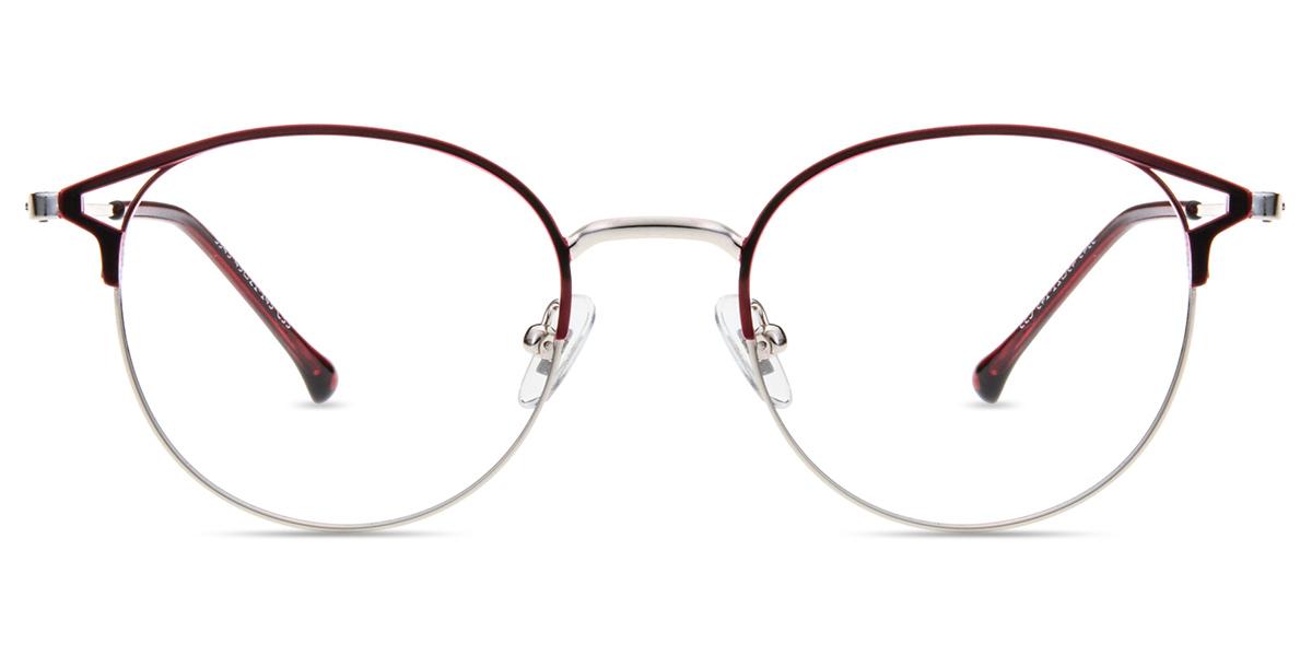 f89c04e8f0f Unisex full frame metal eyeglasses