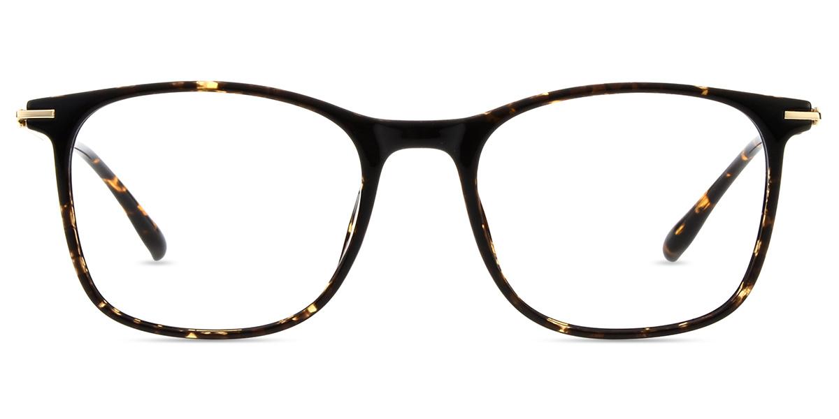 7d85897fcb Unisex full frame mixed material eyeglasses