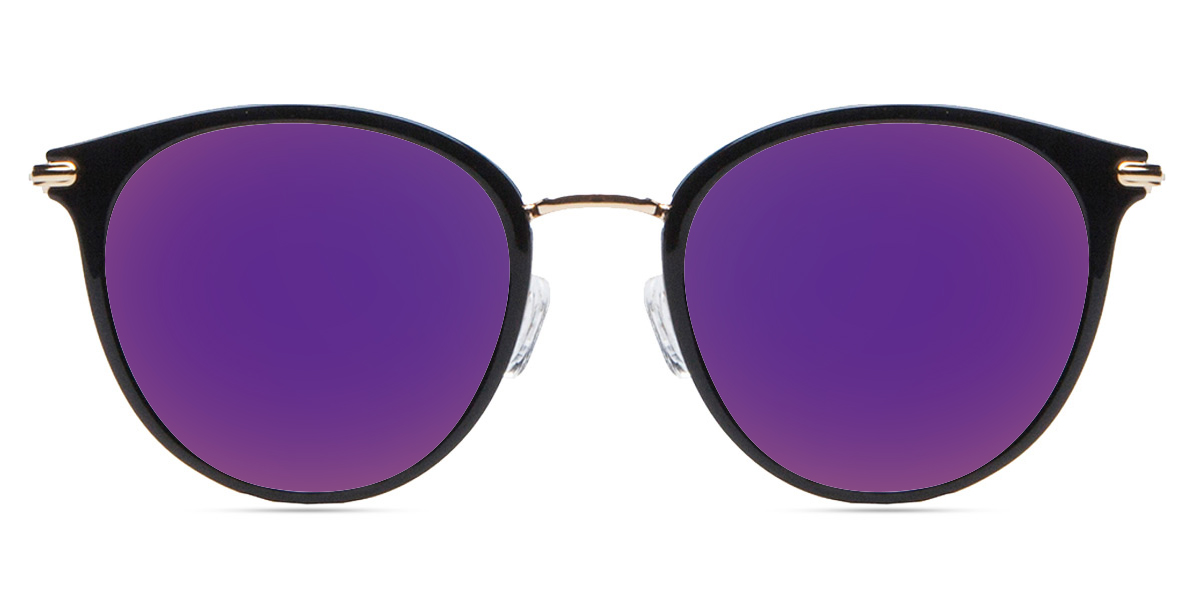 1334edeca4 Unisex full frame mixed material sunglasses