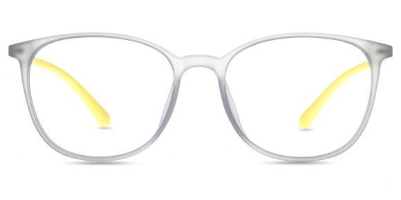 lkfs0154r - Yellow Eyeglass Frames