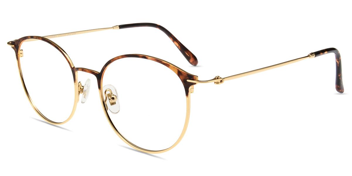 a559b19575 Unisex full frame metal eyeglasses