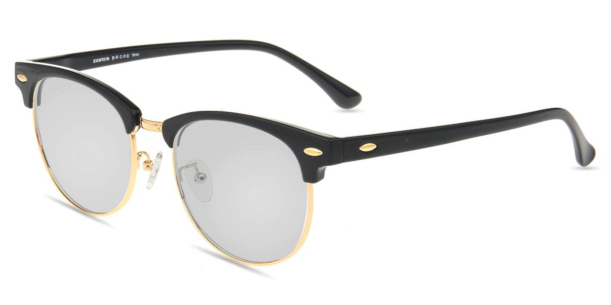 25982ec0a4 Unisex full frame mixed material sunglasses