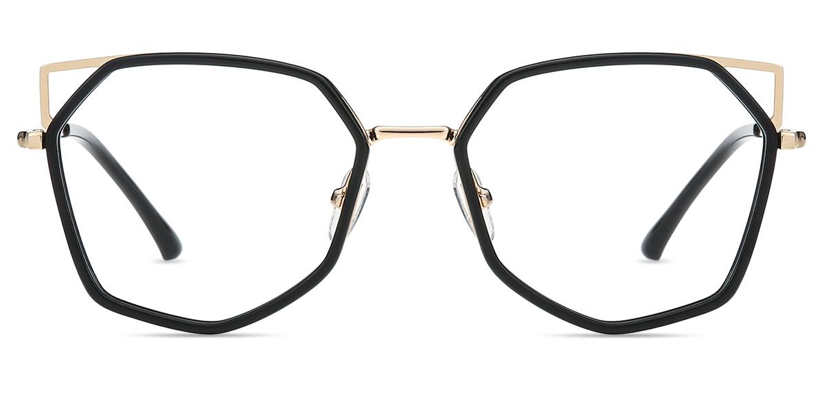 343bdfd0db Women s full frame mixed material eyeglasses