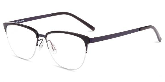 b86dfc55c3 Women s semi-rimless mixed material eyeglasses - BNK8811X