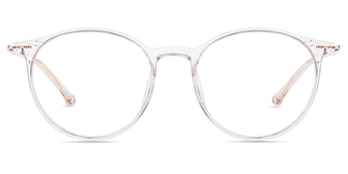 88ba33789fc Unisex full frame mixed material eyeglasses