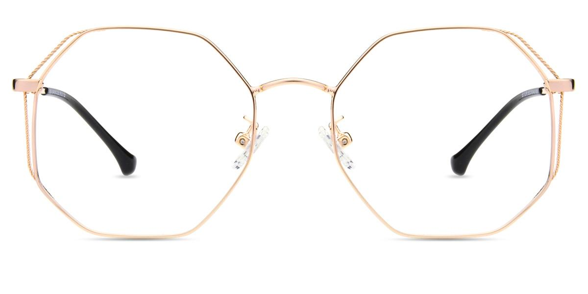 721f4f9e88 Women s full frame metal eyeglasses