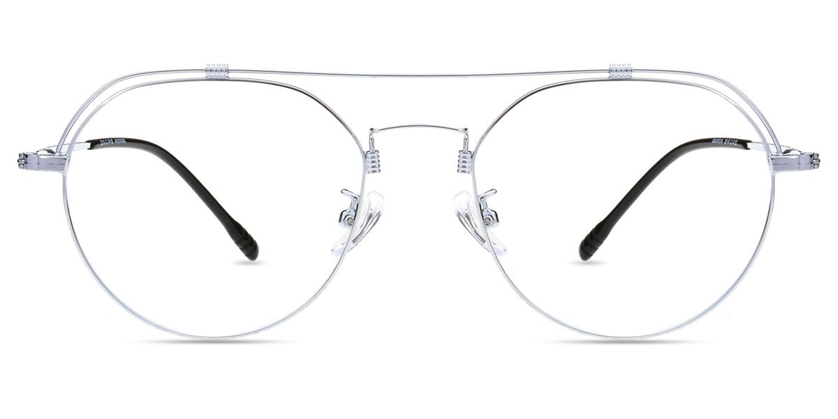 c389aeace5 Unisex full frame metal eyeglasses