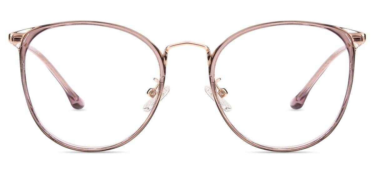 13f7fed80f9 Women s full frame mixed material eyeglasses