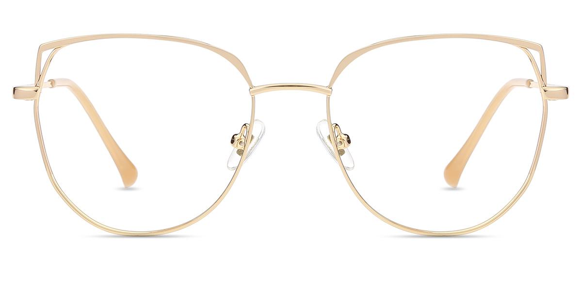 904ee35eba Women s full frame metal eyeglasses