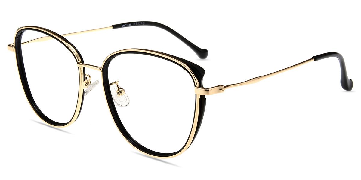 ac384f0aa1 Women s full frame Mixed Materials eyeglasses
