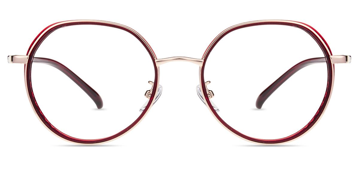 e96af4206c Women s full frame Mixed Materials eyeglasses